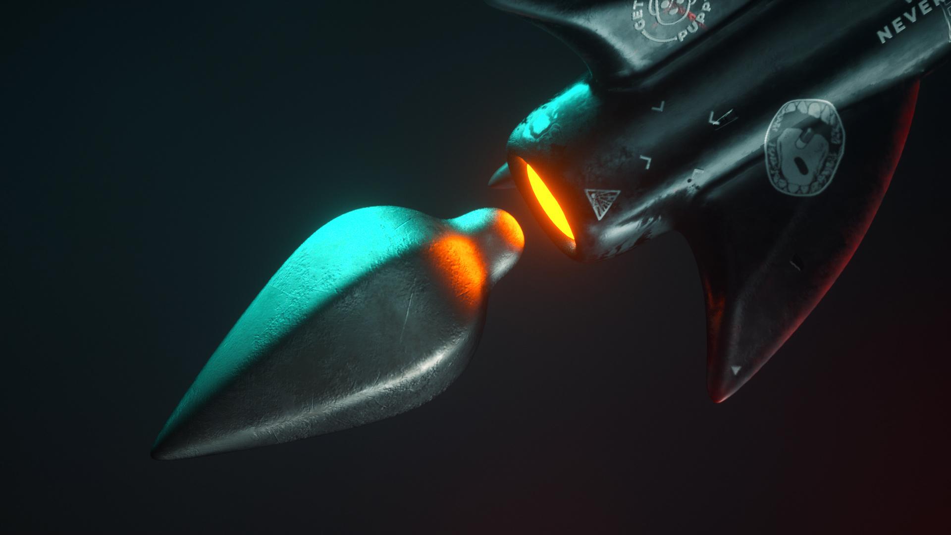 Rocket Tail Spin