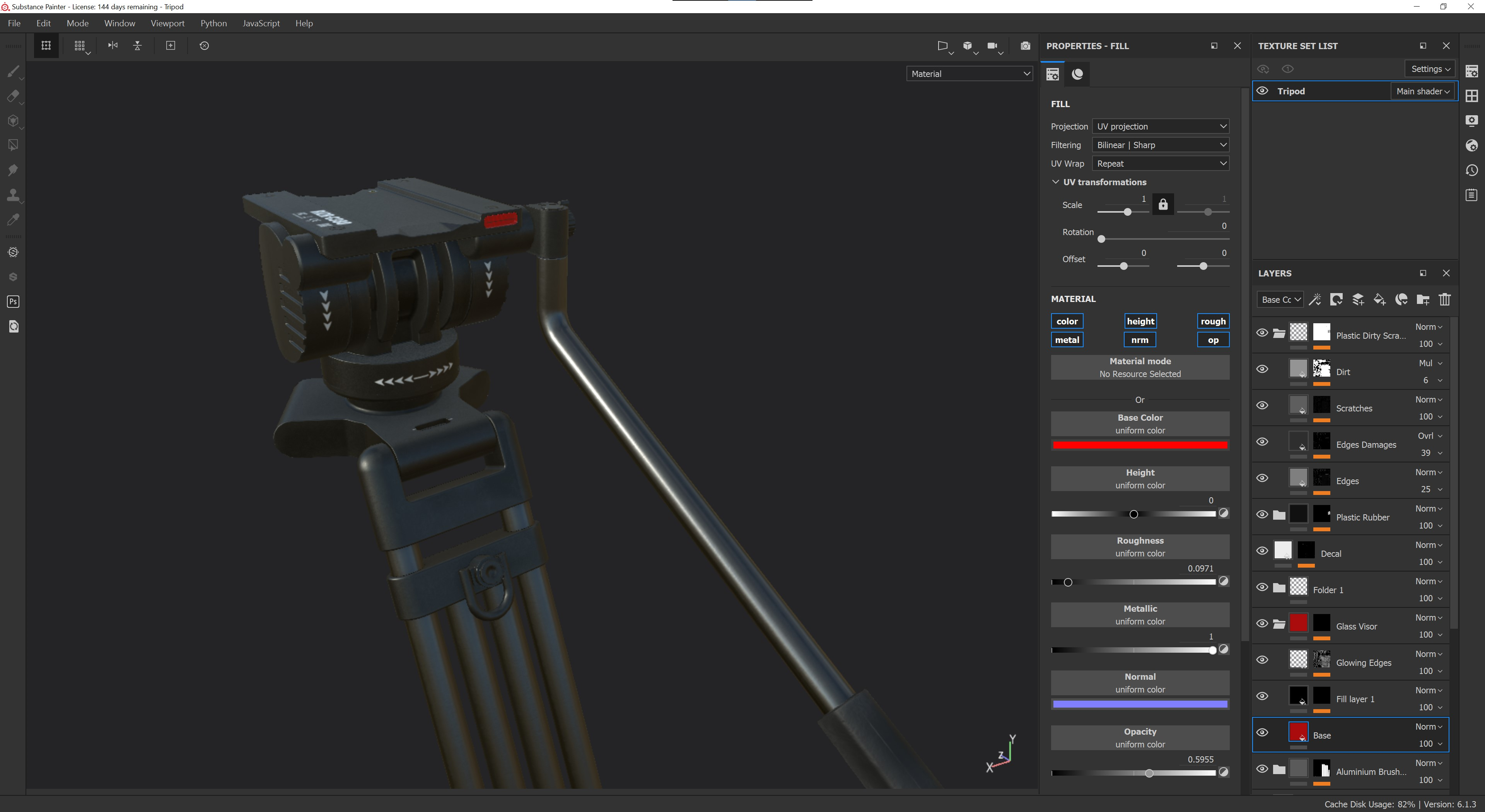 Fully-Rigged-Substance-Tripod
